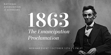 1863: The Emancipation Proclamation tickets