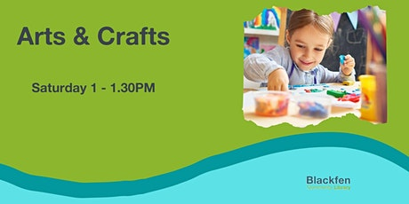 Saturday Art and Craft Club for Kids tickets