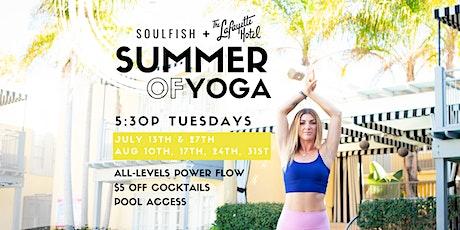 Summer of Yoga tickets