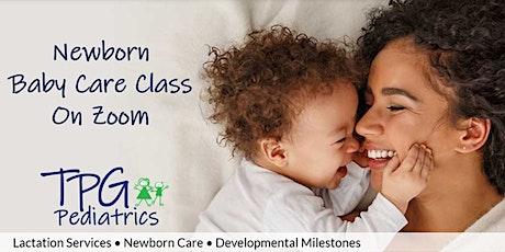 Zoom Newborn Baby Care Class tickets