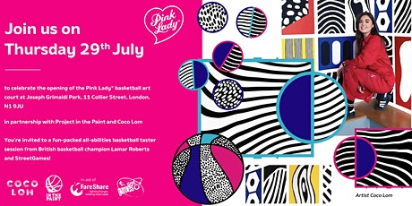 Pink Lady x Coco Lom Basketball Court Launch tickets