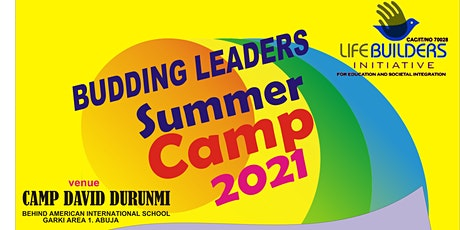 BUDDING LEADERS SUMMER CAMP 2021 tickets