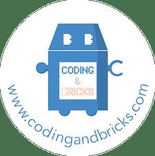 www.codingandbricks.com  logo
