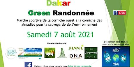Dakar Green Randonée billets