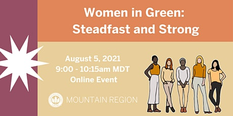 Mountain Region Women in Green Panel Discussion tickets