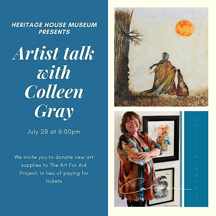 Artist Showcase : Colleen Gray image