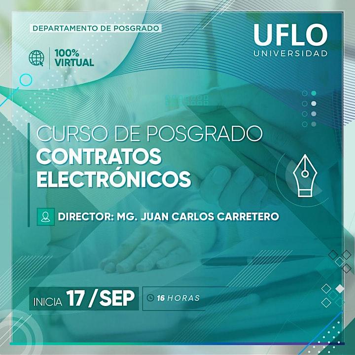 Imagen de Curso Posgrado CONTRATOS ELECTRONICOS  Normativa Nacional e Internacional
