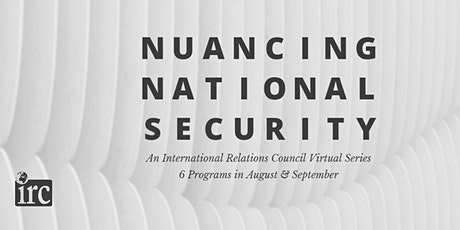 Nuancing National Security: Biological and Agricultural Security tickets