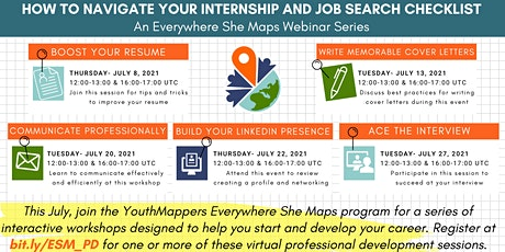 How to Navigate Your Internship and Job Search Checklist tickets