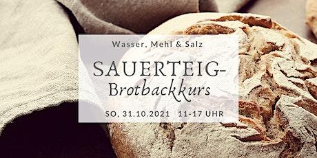 Sauerteigbrotbackkurs im Oderbruch (Okt.II) Tickets