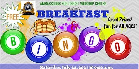 Breakfast & Bingo tickets