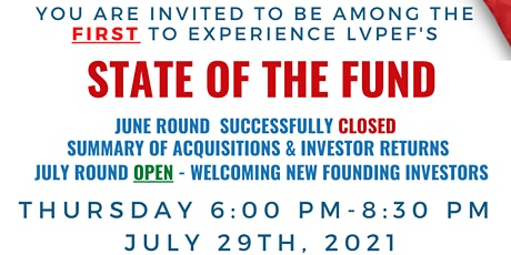 STATE OF THE FUND DINNER EVENT tickets