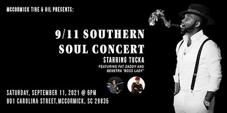 9/11 Southern Soul Concert tickets