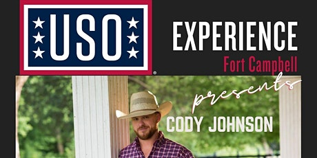 USO Experience | Cody Johnson Concert tickets
