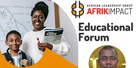 Educational Forum | Afrik Impact 2021 tickets