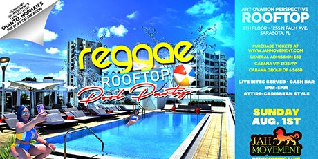 Reggae Rooftop Pool Party tickets