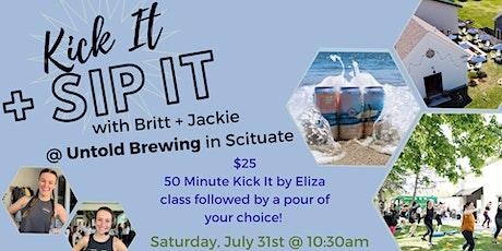 Kick It & Sip It with Jackie & Britt tickets