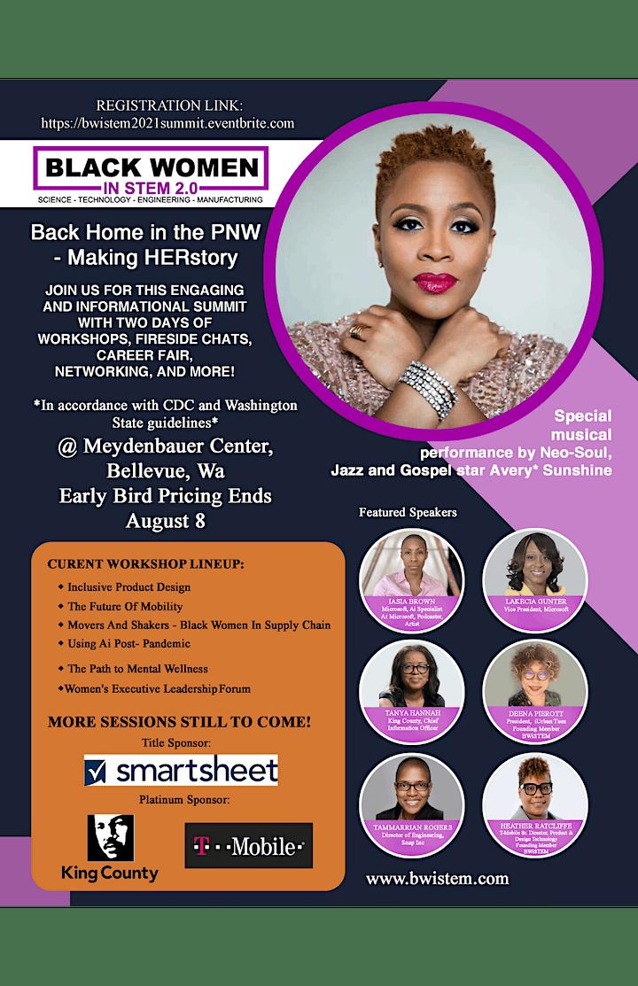 Black Women in STEM 2.0 Summit - Making HERstory image