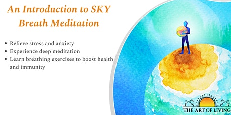 Promoting Well-Being Through SKY Breath Meditation tickets