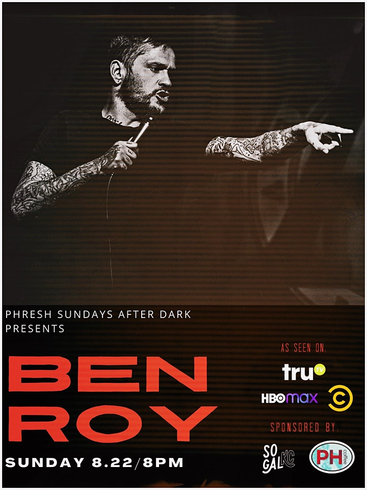 Phresh Sundays Presents Ben Roy 18+ RECOMMENDED image