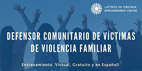 Entrenamiento Virtual para Defensores Comunitarios - Julio 2021 biglietti