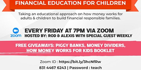 How money works (Kids edition) tickets