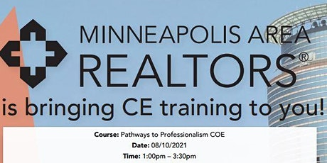 Pathways to Professionalism Code of Ethics  2.5 CE tickets