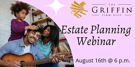 Estate Planning Webinar tickets