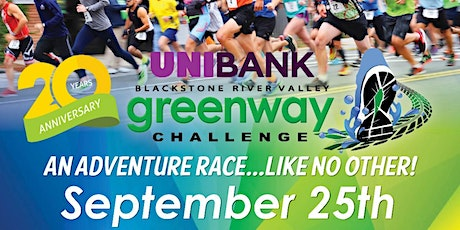 20th Annual Greenway Challenge tickets