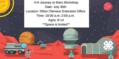 Dillon Journey to Mars tickets