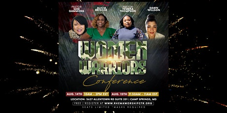 Women Warriors Conference tickets