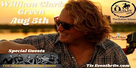 William Clark Green in Concert! tickets
