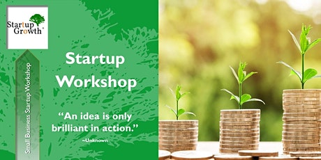 Virtual Small Business Startup Workshop (Live) tickets
