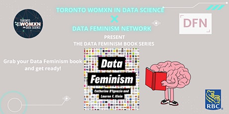 Data Feminism Book Club Series bilhetes