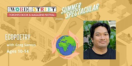 Summer Spectacular: Ecopoetry tickets