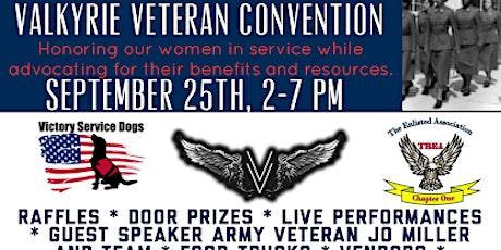 Valkyrie Veteran Convention tickets