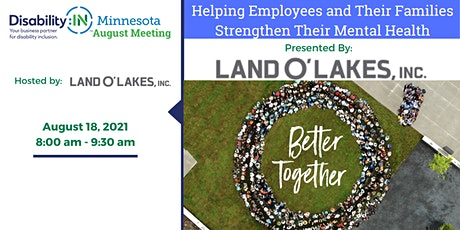 Disability:IN Minnesota's (VIRTUAL) August Member Meeting tickets