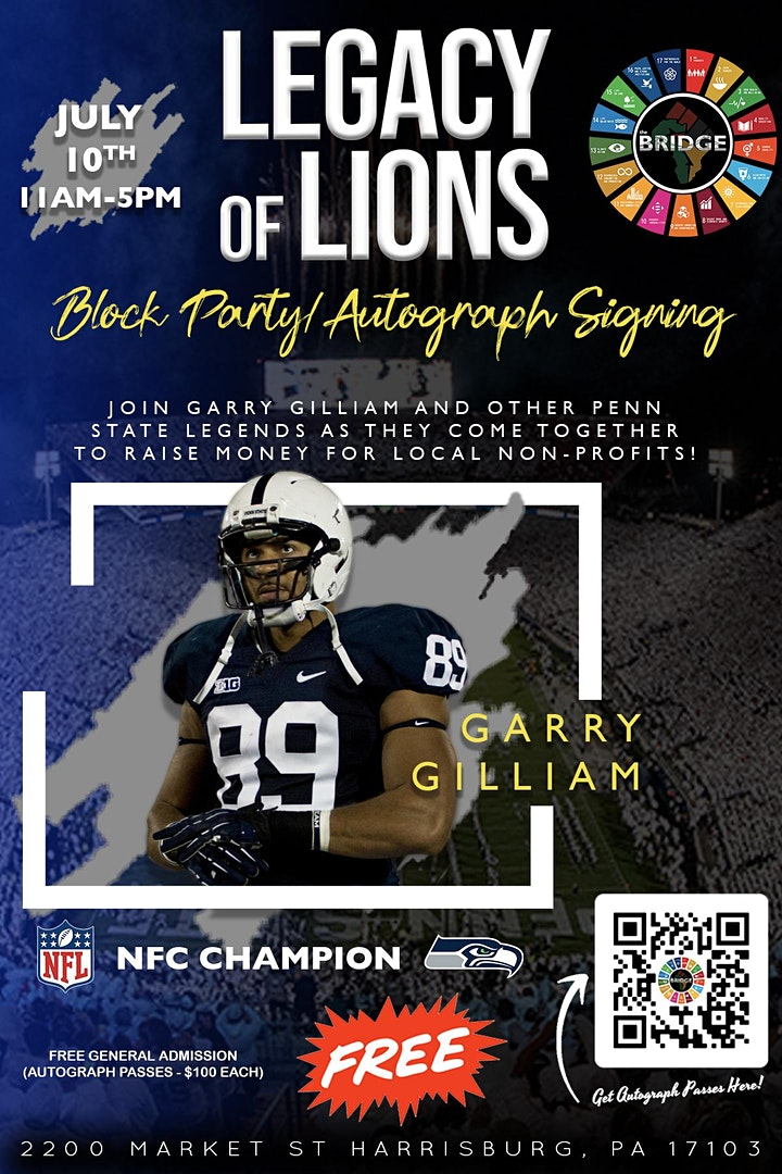 Legacy of Lions - Autograph Signing/Block Party w/ image