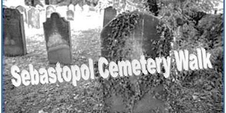 Sebastopol Cemetery Walk tickets