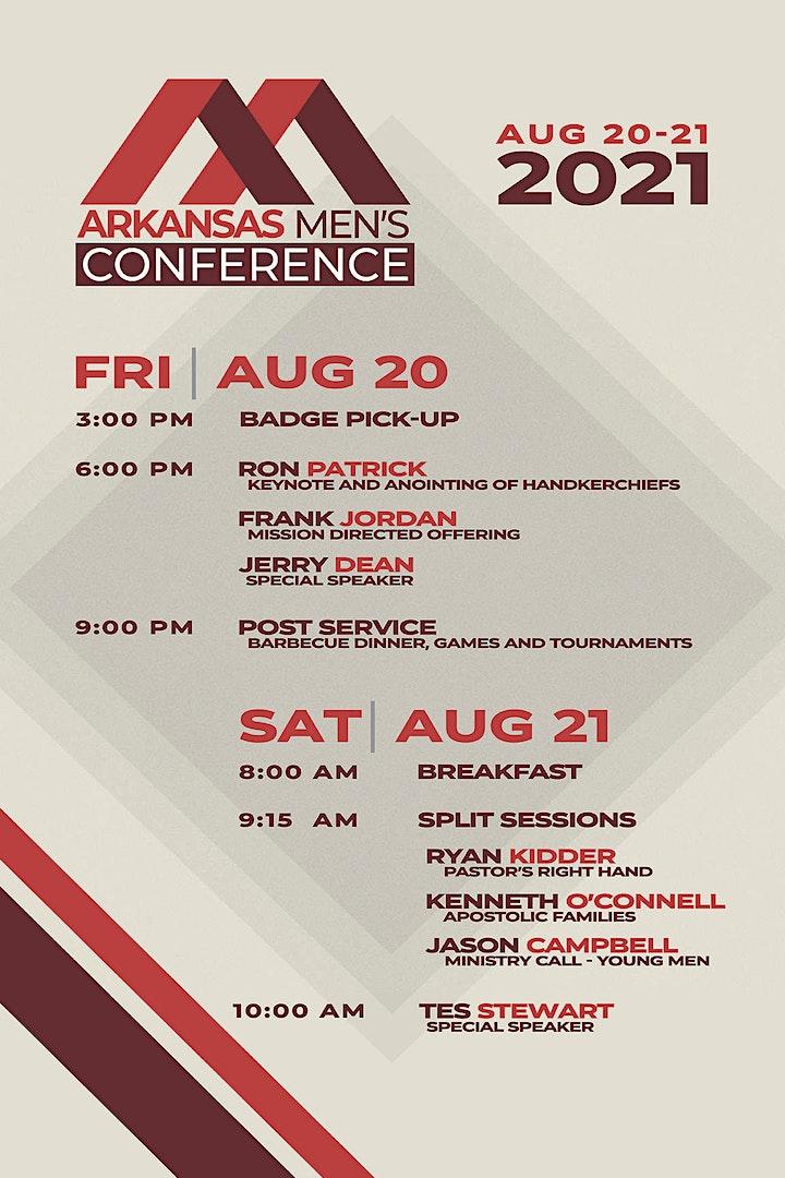Arkansas District Men's Conference 2021 image