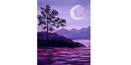 60min Paint Landscape Scenery: River @1PM  (Ages 6+) tickets
