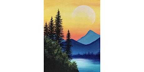 60min Paint A Sunset Landscape Scenery @11AM (Ages 6+) tickets
