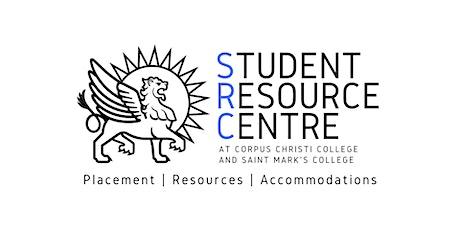 Part Time Studies - SRC English Placement Test billets