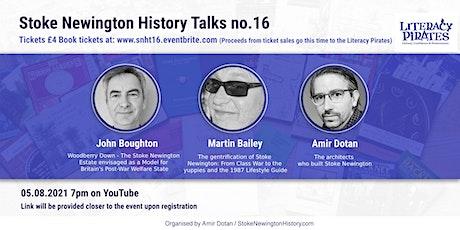 Stoke Newington History Talks no. 16 tickets