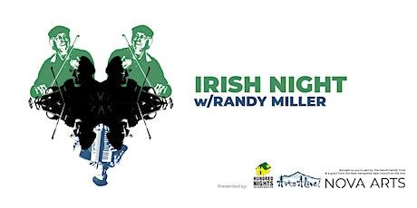 Irish Night w/ Randy Miller tickets