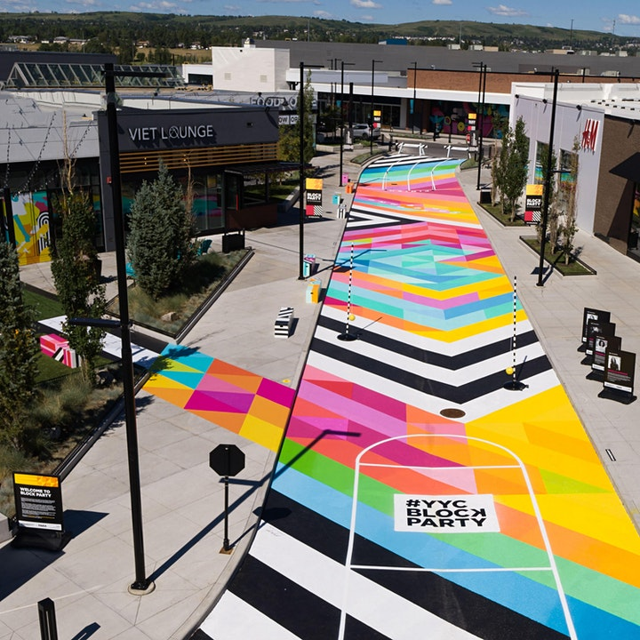 #YYCBlockParty - Art on the BLVD image