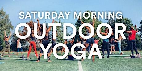 Saturday Morning Outdoor Power Yoga with Morgan Zion tickets