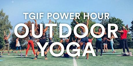 TGIF Outdoor Power Yoga with Morgan Zion tickets