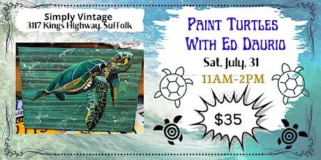 Paint  Sea Turtles with Ed Daurio tickets