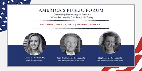 APF: Discussing Democracy in America: What Tocqueville Can Teach Us Today tickets
